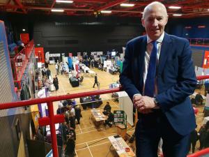 John at Carlisle Skills Fair 2019