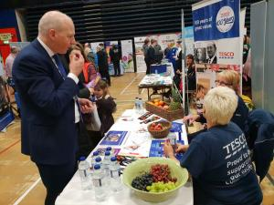 John at Carlisle Skills Fair 2019