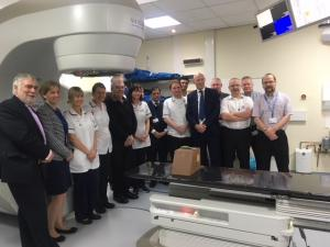 Linear Accelerator Machine Opening at Cumberland Infirmary